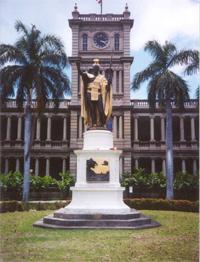 kamehameha statue