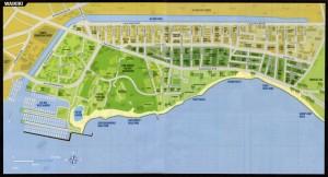 Waikiki Map